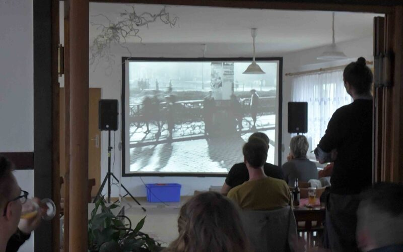 Kinovorführung Kuhle Wampe in Regis-Breitingen